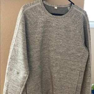 Gray lululemon pull over